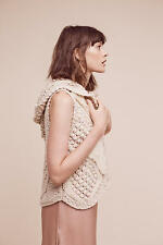 ANTHROPOLOGIE Pelage Crochet Vest size Large new with tag