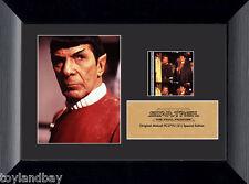 Film Cell Genuine 35mm Framed & Matted Star Trek Final Frontier USFC2792 Spock