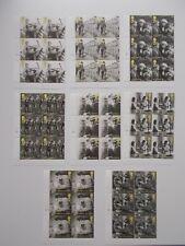 GB QEII 2010 Britain Alone Set of 8 in Cylinder Blocks of 6 Superb U/M Cat £72+