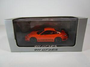 1/43 Minichamps – Porsche 911 997 GT3 RS – Orange (WAP02012417) Dealer Box