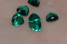 A Single 3mm Trillion Cut Genuine Enhanced Green Emerald!!!