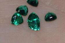 A Single 3mm Trillion Cut Genuine Enhanced Green Emerald!!!