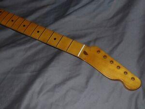 DARK C RELIC Fender Lic. Allparts Maple Neck will fit telecaster usa mjt ri body