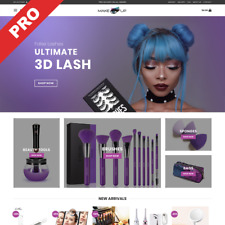 MakeUp Dropshipping Store | Professional Website | Turnkey Business For Sale