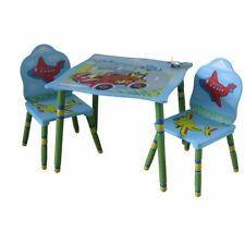 Solid Wood Vehicles Tables & Chairs for Children