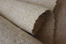Grainsack fabric NUBBY material place mat napkin table runner natural PER YARD