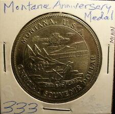 Montana & Alaska Anniversary Medals (2)