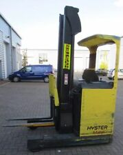 Hyster R1.4 Electric Reach Forklift Truck 1400kg Lift 6.9m Lift Height USA Made