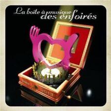 CD de musique édition pour chanson française sur coffret