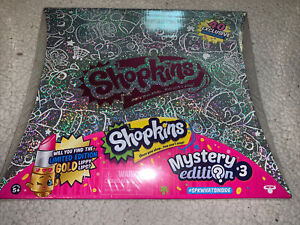 SHOPKINS MYSTERY EDITION 3 BOXED SET FACTORY SEALED New