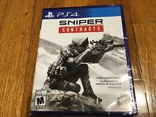 Sniper Ghost Warrior - Contracts Playstation 4 PS4 BRAND NEW FACTORY SEALED