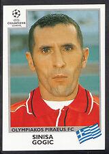 PANINI CALCIO ADESIVO-UEFA CHAMPIONS LEAGUE 1999-00 - N. 187-OLYMPIAKOS