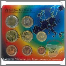 ESPAGNE - Année 2004 - Coffret BU - Série 8 Pièces €uros