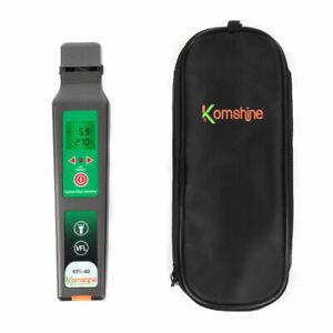 Upgrade Komshine KFI-40  live Optical fiber identifier 800-1700nm With VFL 10mW