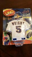David Wright Uno Cards Set, New York Mets, 2007, New & Sealed