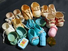Cabbage Patch Accessories Shoes Pacifier - Mixed Lot - Various Pieces - Sandals