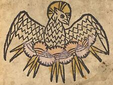 TEDESCO XV secolo Spirito Santo vecchia Pittura Arte Poster Stampa bb5477a