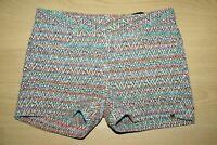 IKKS Fille 12 ans superbe short multicolore Taille réglable