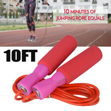 New listing NEW Aerobic Jump Rope Red Skipping Exercise  Adjustable Speed Fitness Home Gym