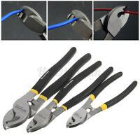 """Steel Wire Rope Cutter Heavy Duty 6"""" 8"""" 10"""" Cable Copper Stripper Plier Snips"""