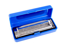 Blues Harmonica In the Key Of C With Case Diatonic Mouth Organ