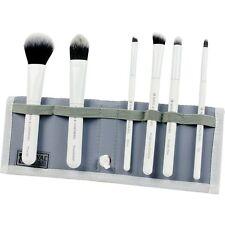 Moda Total Face Professional Make Up Brush Set. White Blue Red Purple Black Pink