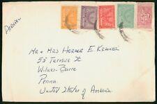 Mayfairstamps Saudi Arabia to Wilkes Barre PA Cover wwo_57679