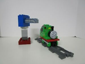 Lego Duplo Thomas The Tank Engine Percy At The Water Tower (5556) 100% Complete