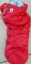 Vintag The North Face Brown Label Goose Down Zip Mummy Sleeping Bag Ruck Sack