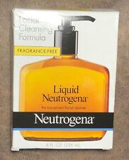 Liquid Neutrogena Facial Cleansing Formula 8 Fl Oz fragrance Free Sensitive Skin