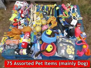 75 Pet Items Dog cat £1 & £2 lines wholesale clearance carboot reseller joblot