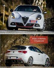 Kit Profilo Rosso Anteriore E Posteriore Alfa Romeo Giulietta Front And Back Dam