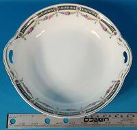 "Crown Imperial 10 3/4"" Round Serving Bowl Czecho-Slowakia Pattern Code CIM88"
