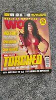 World Of Wrestling WOW Magazine VOL 3 Issue 10 Oct 2001 CHYNA,WWF,WWE,ECW,WCW