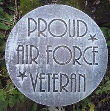 Veteran air force mold plastic military plaque concrete plaster mould