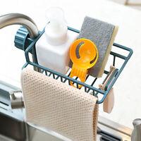 Adjustable Kitchen Sponge Dishcloth Draining Sink Storage Rack Faucet Shelf Atom