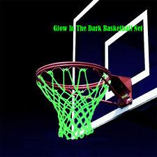 Amazing Glow In The Dark Light Sun Powered Basketball Hoop Net Shoot Training