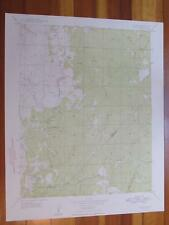 Ben Hur California 1948 Original Vintage USGS Topo Map