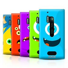 STUFF4 Back Case/Cover/Skin for Nokia Lumia 928/Monsters