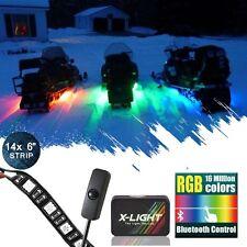 Snowmobile Led Glow Lighting Kit All-Color Body Glow Light Neon Strips 14pcs