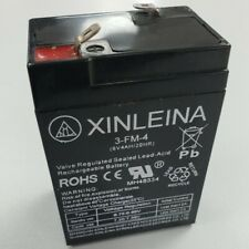 6v REPLACEMENT BATTERY FOR KIDS ELECTRIC RIDE ON CAR 4ah 3FM4
