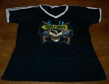 VINTAGE STYLE WOMEN'S TEEN GUNS N' ROSES SKULL T-shirt 2XL XXL NEW