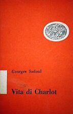 GEORGE SADOUL VITA DI CHARLOT EINAUDI 1952