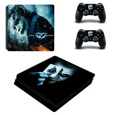 New PS4 Decal Cover Skin Joker Sticker For Playstation 4 Console w/2 Controller
