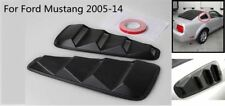 Pair 1/4 Quarter Side Window Louvers Scoop Cover Vent For Ford Mustang 2005-14