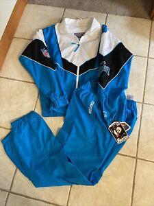 Vintage Pro Line Starter Carolina Panthers Progression Warm Up Suit New Size S