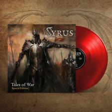 SYRUS - Tales of War (LIM.200 RED VINYL+BONUS*US TEXAS METAL KILLER*JAG PANZER)