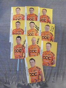 CYCLISME  CYCLING: 10  CPS   TEAM  CCC  POLSAT   2009
