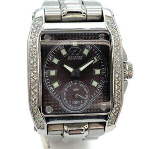 REACTOR 'Fusion' 98018 Diamond Bezel Men's Watch