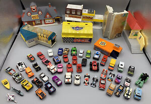 Galoob Micro Machines Vehicles and Buildings Lot